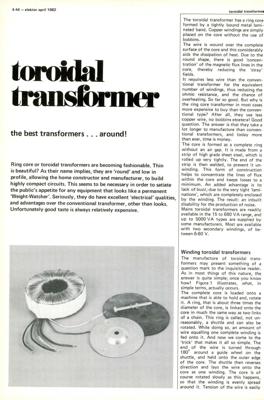 Toroidal transformers - the best transformers around