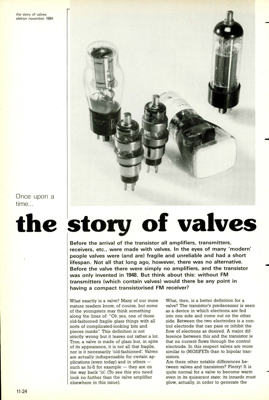 the story of valves - Once upon a time