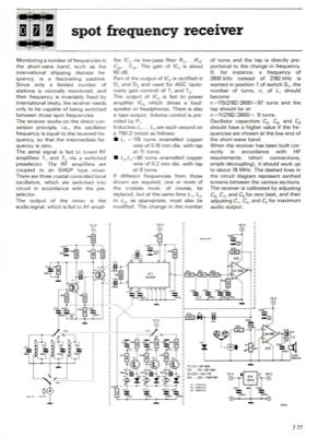 spot frequency receiver | Elektor Magazine
