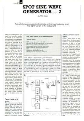 Spot Sine Wave Generator 2   Elektor Magazine
