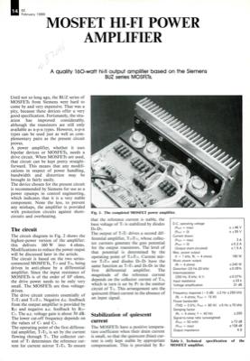 Mosfet Hi-Fi Power Amplifier | Elektor Magazine
