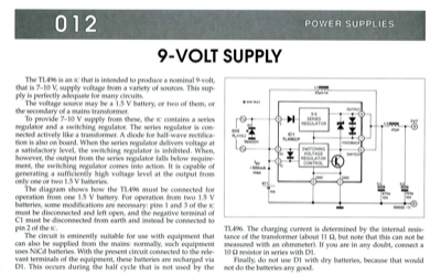 9-Volt Supply