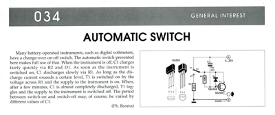 Automatic Switch