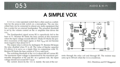 A Simple Vox
