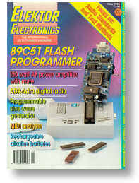 Programmer for 87/89C51 series Flash controllers