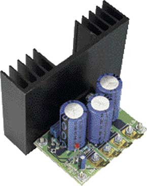 One-IC audio power amplifier