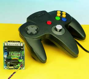 PC interface for Nintendo joystick