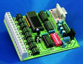 8 Channel D/I Card for RS232