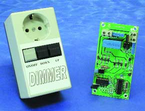 Microprocessor Controlled Light Dimmer