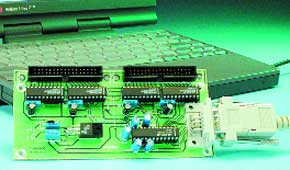 32-Channel Analogue Input Card