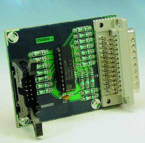 Parallel JTAG Interface