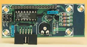 LC Display with I2C Bus