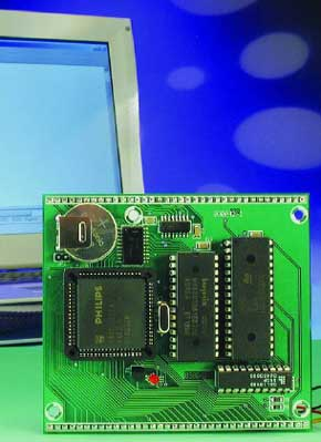 64-K 80C552 Flash Board