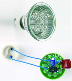 White LED lamp