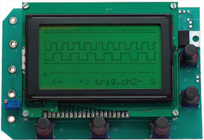 Four-channel logic analyser