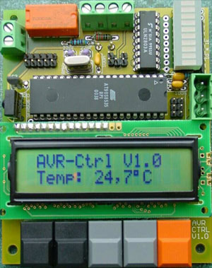 Low-cost Heating Controller