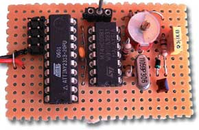 ATtiny as RDS frequency generator