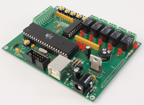 A development board with a software-defined USB interface