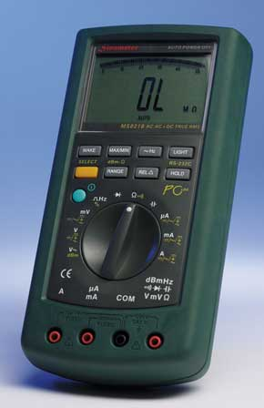 Portable Multimeters with a Serial Interface