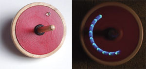 LED Spinning Top