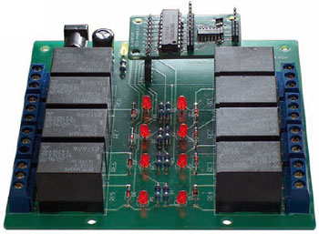 ATM18 Relay Board and Port Expander