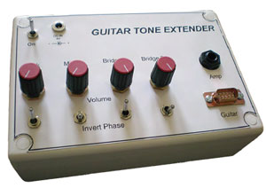 Guitar Pick-up Tone Extender