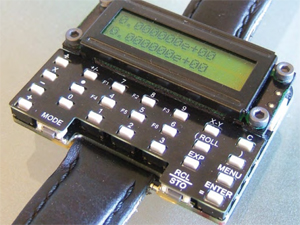 µWatch: return of the scientific calculator watch