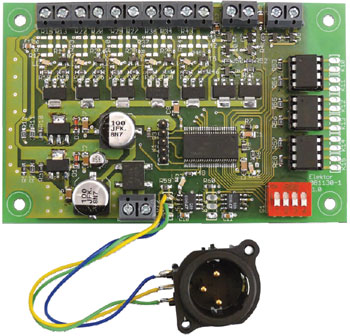 DMX512 Control Interface