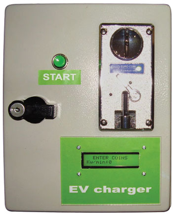 Low-cost Electric Vehicle Charge Station