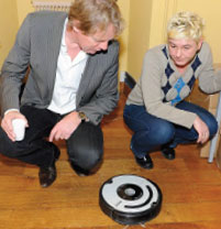 Make Room for the Roomba!