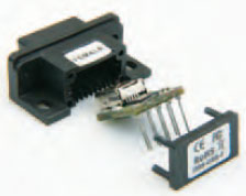 USB port from a 9-pin Sub-D connector