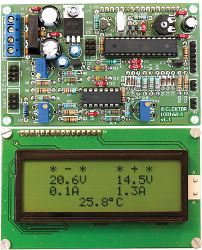 Dual Voltage/Current Display