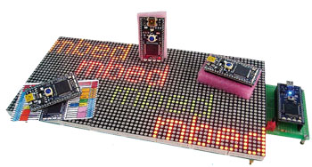 Build a Scrolling LED Message Board in One Day