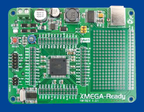 Under Scrutiny: the Xmega Board