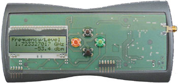 3 GHz Frequency and Signal Level Meter