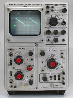 Tektronix 564 Storage Oscilloscope (1963)