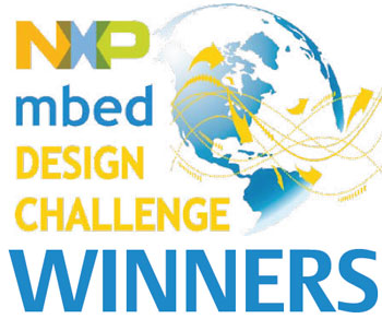 NXP mbed Design Challenge Winners