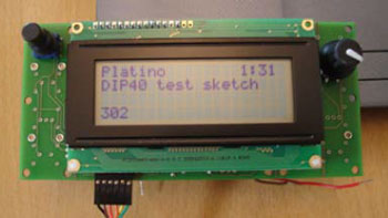 Platino in Arduino Land