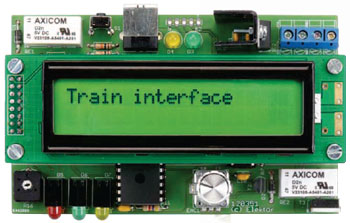 Model Train Interface