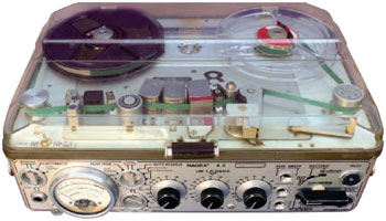 The Nagra IV Tape Recorder