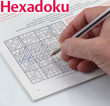 Hexadoku, May 2012