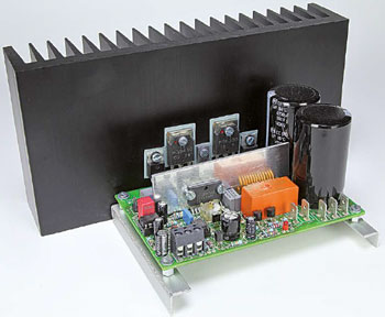 Q-Watt Audio Power Amplifier