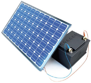 4 Amps Photovoltaic Charge Controller