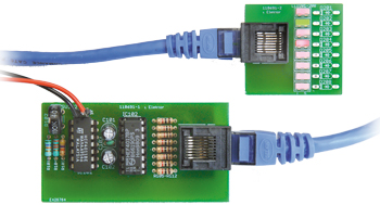 RJ45 'Running-Lights' Cable Tester
