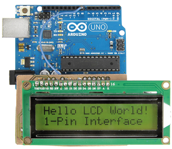 Single Wire LCD Interface