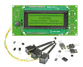 Experimenter's Transistor Tester