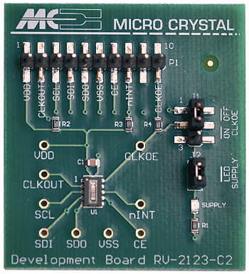 Chip Tip: RTC Modules from Micro Crystal