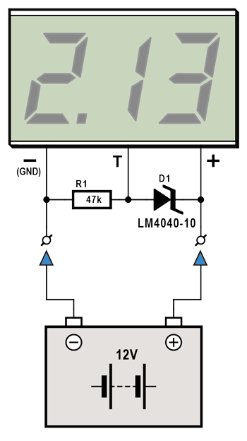 Cheap Accurate 12-V Battery Monitor