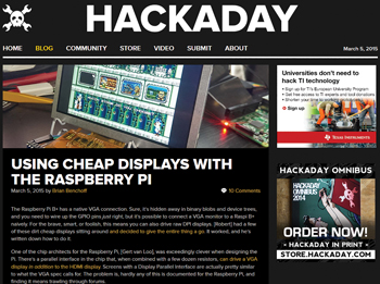 Nosing Around Hackaday