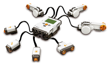 Lego Mindstorms Electricity Monitor